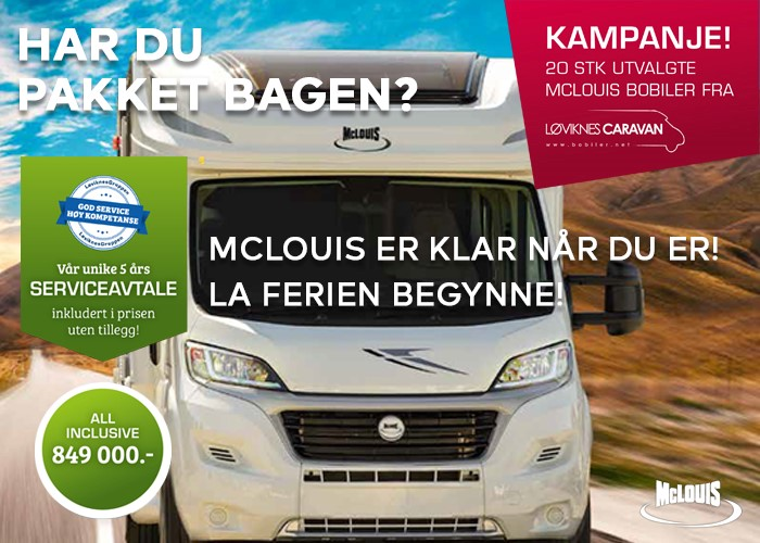 Kampanje 20 biler Pilote Løviknes
