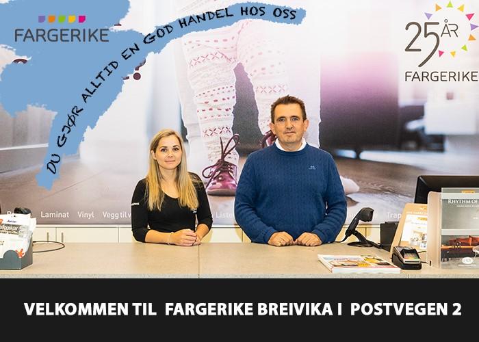 Fargerike Breivika –  profil artikkelannonse